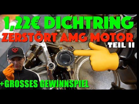 1,22€ Dichtring verursacht Motorschaden bei AMG ! M113 E55 AMG