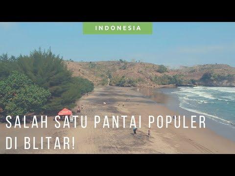 Pantai Serang Blitar Drone Video [ Wisata Pantai Di Blitar ]