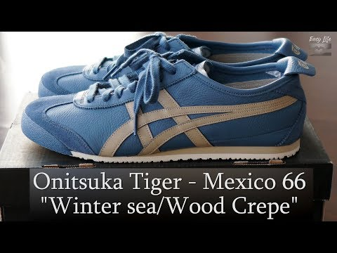 Review + On-feet Onitsuka Tiger Mexico 66 Winter Sea/Wood Crepe (audio In Eng, Subtítulo Castellano)