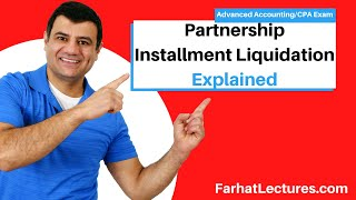 Partnership Installment Liquidation | Safe Payment Approach | Advanced Accounting CPA Exam FAR