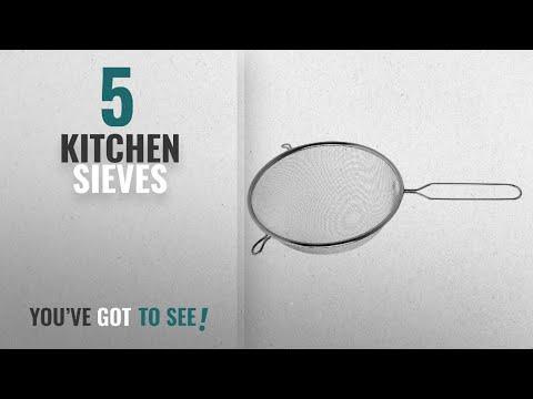 Top 10 Kitchen Sieves [2018]: Premier Housewares Stainless Steel Sieve, 20 cm