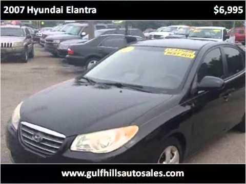 2007 Hyundai Elantra Used Cars Ocean Springs MS