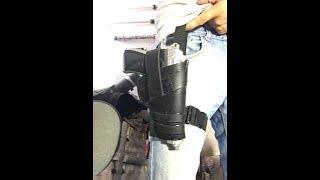 Deadpool Tutorial para fundas de pistolas/ Deadpool gun holster tutorial