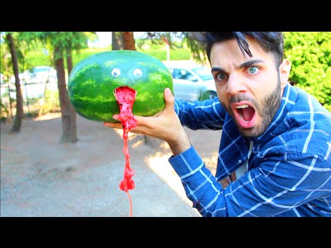 8 Coole WASSERMELONEN Lifehacks Emrah