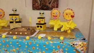 Emoji Birthday Party Day!