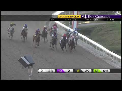 Race Replay: The 2018 Lecomte Stakes at Fair Grounds