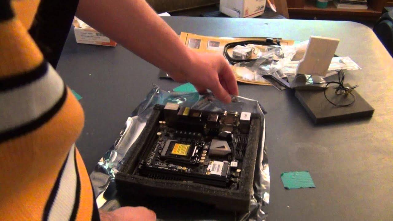 Asrock Z77E-ITX Intel Smart Connect Descargar Controlador