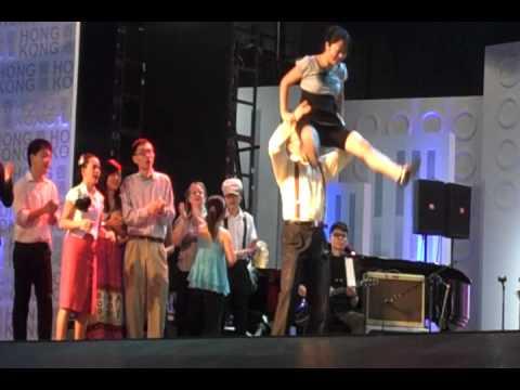 Shanghai Expo Swing Performance (Day 1 - Set 1) - Shim Sham and Jam