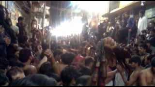 10 muharram  Zanjeer Zani Mochi Gate Lahore 2012. 1434