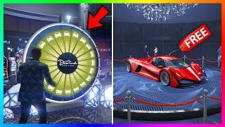 A HUGE Change Was Made To The Lucky Wheel In GTA 5 Online At The Diamond Casino & Resort! (FREE Car)