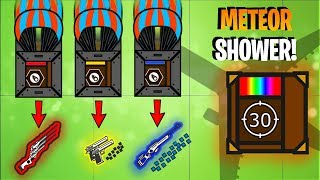 Surviv.io METEOR SHOWER UPDATE!! Unlimited RARE AIRDROPS & Dual M1 GARAND!! (Surviv.io Highlights)