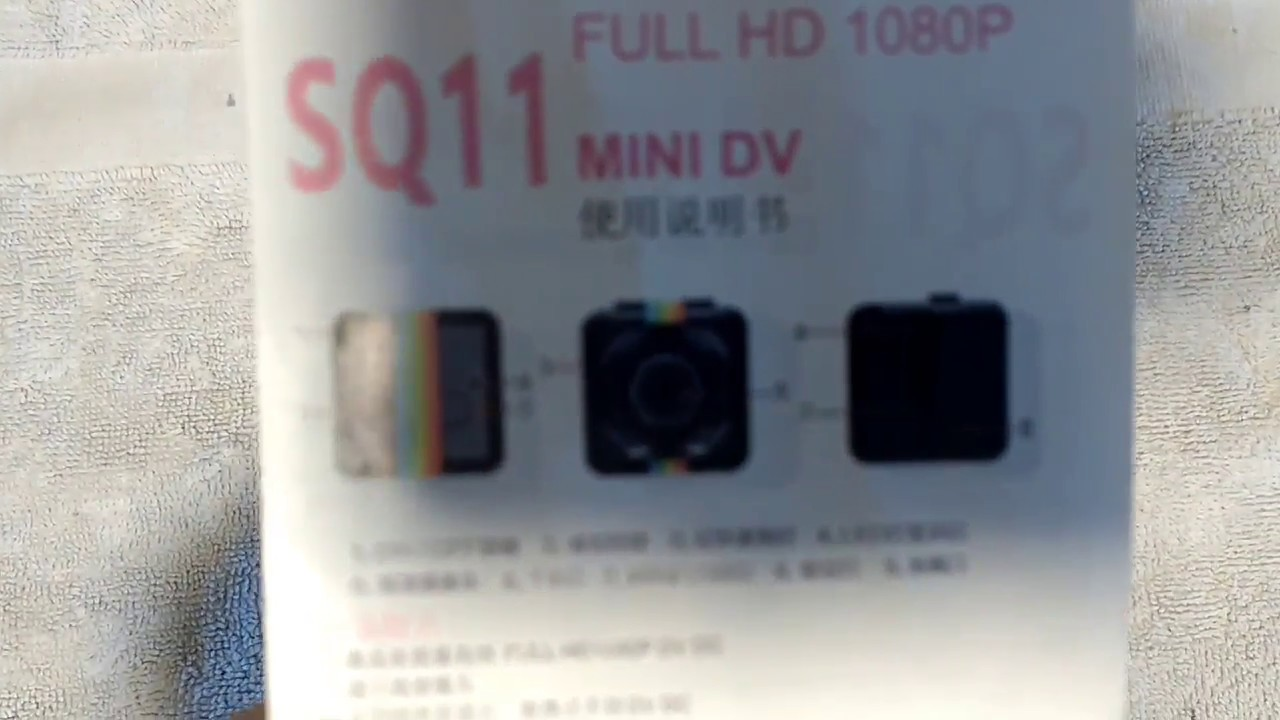 Sq11 mini dv camera instructions