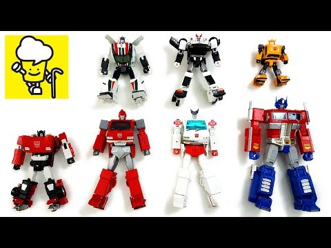 Transformer G1 Optimus Prime Bumblebee Ratchet Prowl トランスフォーマー 變形金剛 masterpiece