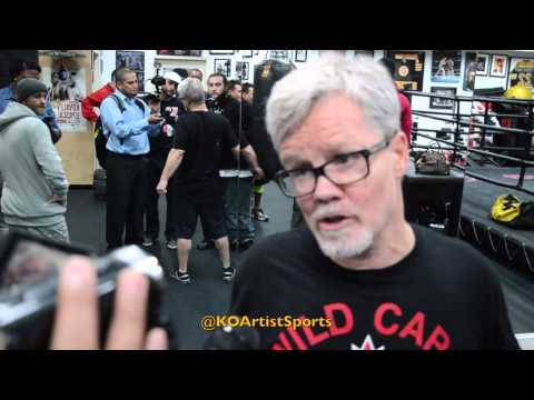 Freddie Roach Thinks GGG Will Beat Canelo Once They Meet.
