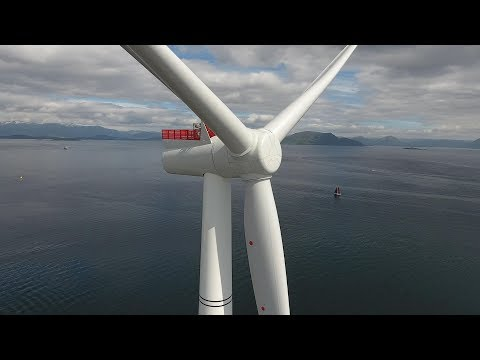 Full story of Hywind Scotland – world's first floating wind farm