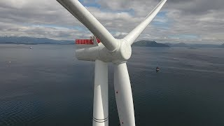 Full story of Hywind Scotland - world's first floating wind farm