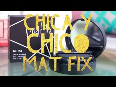 Chica Y Chico Mat Fix Matt Cushion ♥  First Impression