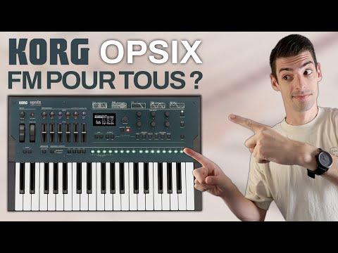 Korg OPSIX : un synthé FM puissant et facile d'utilisation