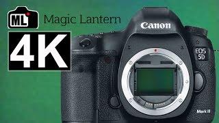 Canon 5D Mark III w 4K Magic Lantern BETTER THAN Canon 5D Mark IV???