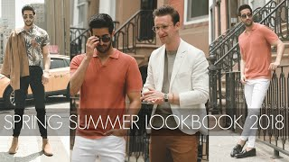 Easy SPRING SUMMER OUTFITS 2018 | Men's Lookbook | Outfit Inspiration | Sami Slimani