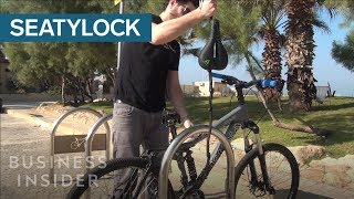 This Bike Seat Is Also A Lock