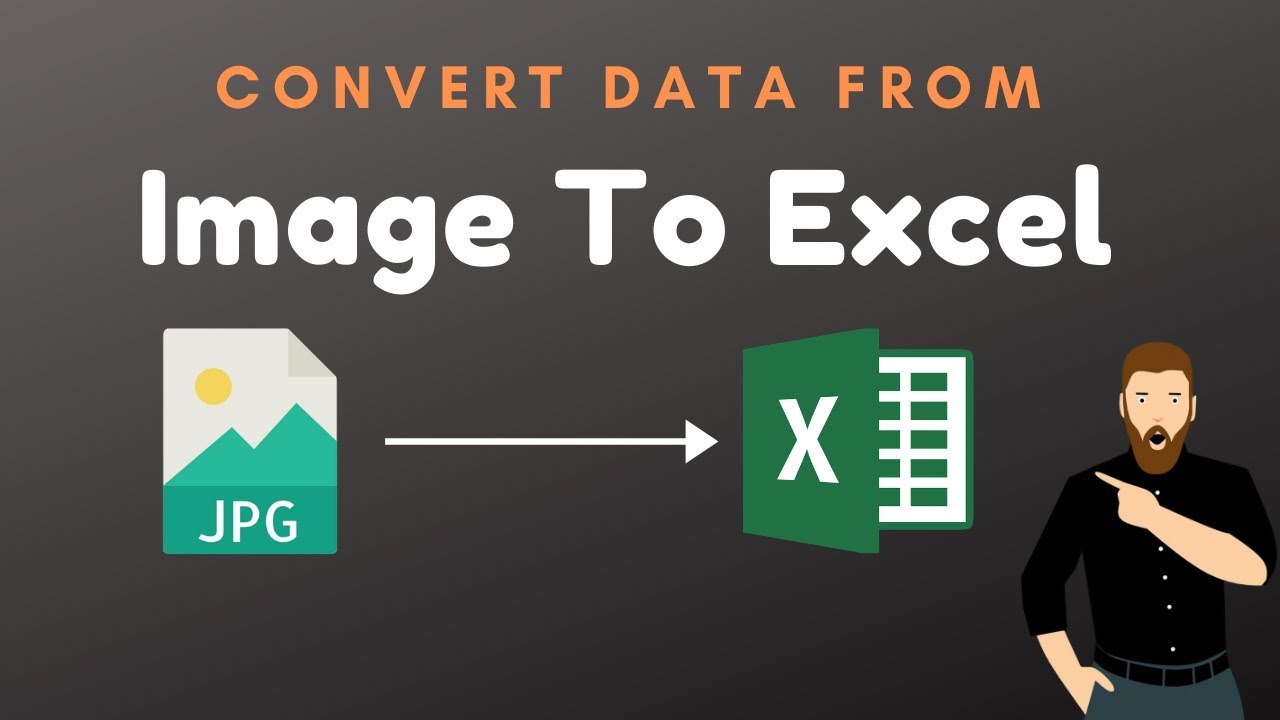 Learn How to Convert any Image Data to Excel | MS Excel New Feature | Image to Excel Sheet