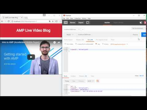 Building a realtime feed with Node js and AMP