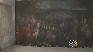 17th Century Painting Discovered During Business Renovations In Paris