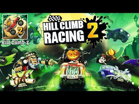 Прошел весь Halloween и ЗАБРАЛ ВСЕ НАГРАДЫ из кейсов - секреты прохождение игры Hill Climb Racing 2