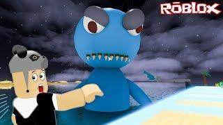 Canavarlı Okyanustan Kaçış! - Panda ile Roblox Escape The Ocean Obby