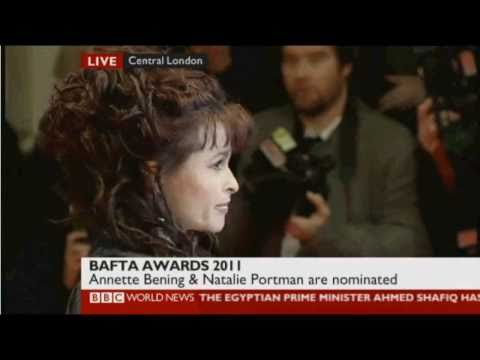 HBC & Tim // Red Carpet BAFTA 2011