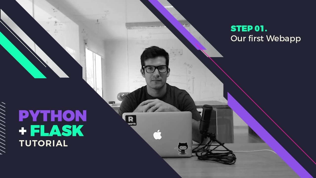 Our First Webapp Lesson - Flask Tutorial - Step By Step
