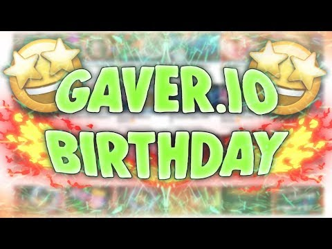 Gaver.io - 1 Year Special Video ❤️