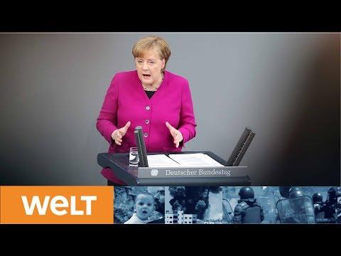 Die Regierungserklärung: Das sind die Eckpunkte der neuen Merkel-Regierung