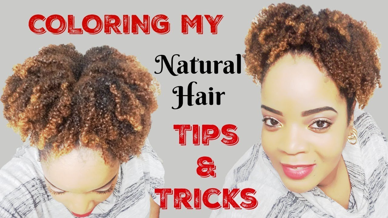 How to Safely DIY   Hair Dye/Color Tips & Tricks   Natural Hair!    Clairol\'s Textures & Tones