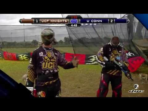 University of Central Florida vs. University of Connecticut - 2016 NCPA Paintball Quarter-Finals
