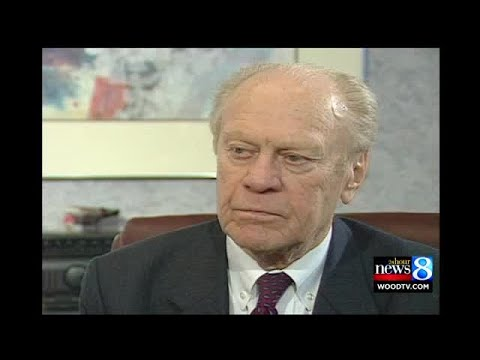 President Ford talks museum, life events, legacy