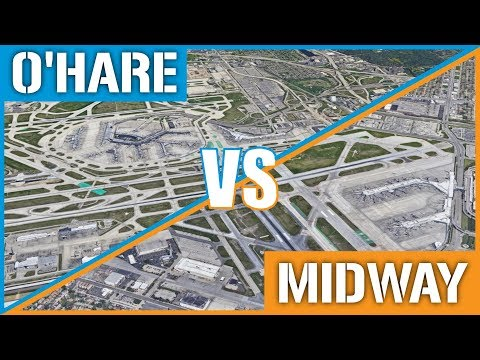 O'Hare VS Midway - Chicago's International Airports Compared