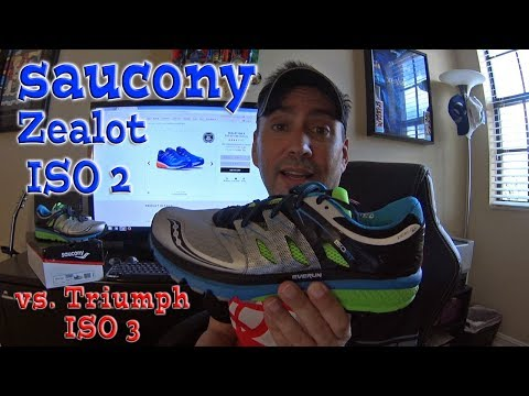 Saucony Zealot ISO 2 (vs Triumph ISO 3)  Review – Sale Time!