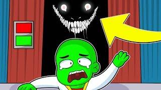 Im Aufzug von Roblox befindet sich ein Monster 😱