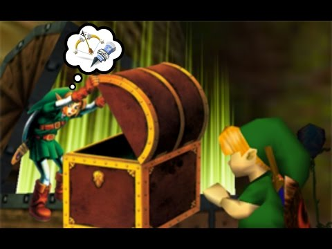 The Legend Of Zelda: All Chest Opening Animations