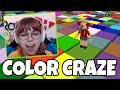 Roblox COLOR CRAZE | RadioJH Games