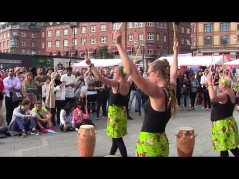 African Drums & Dance In Copenhagen - UNITY DRUM THEATER 3/