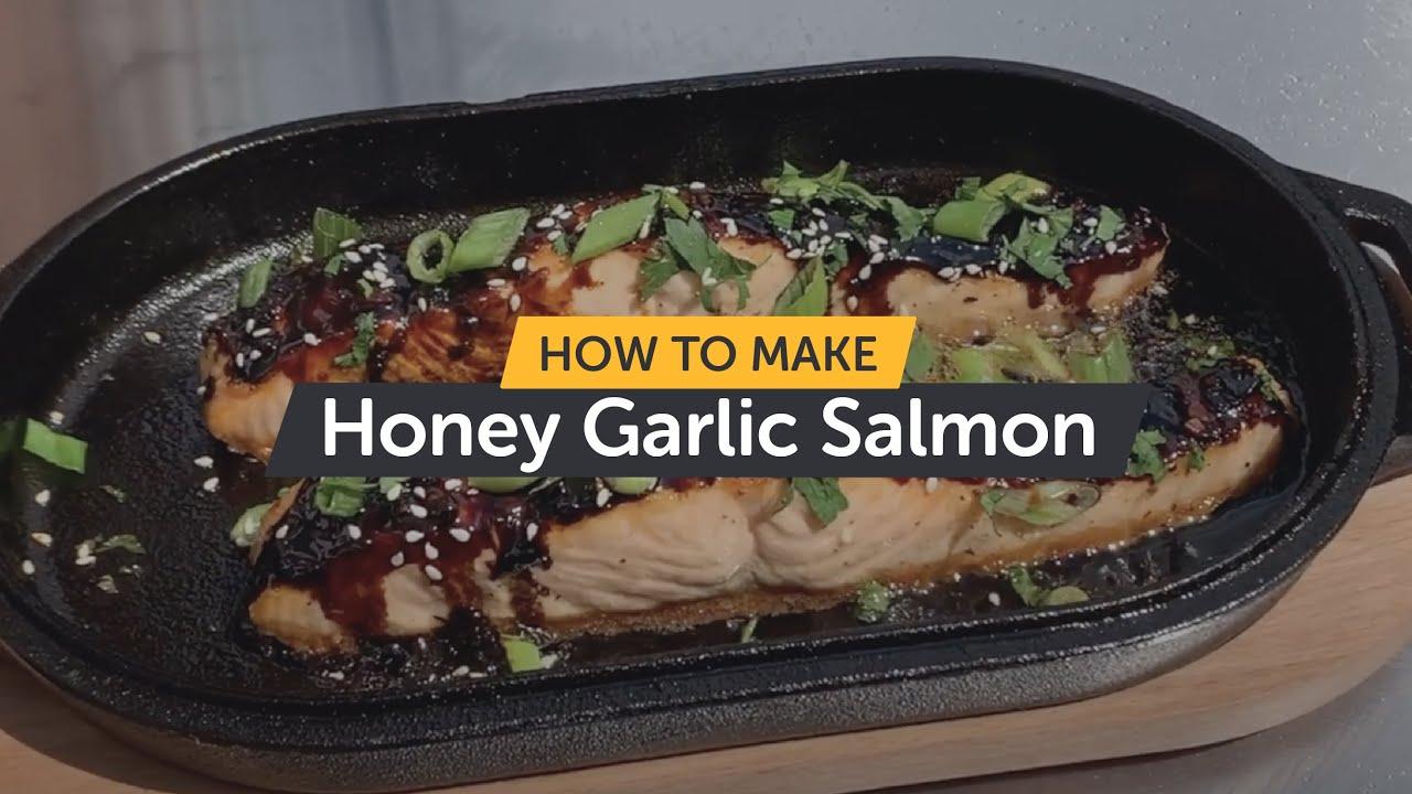 How To Make Honey Garlic Salmon | Cast Iron Series