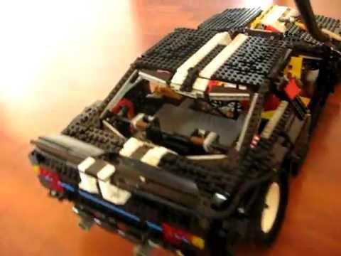 Lego Drift Machine First Run Pneumatic Engine Testing Youtube