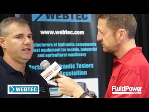 Go With The Flow: Webtec Talks Hydraulic Testers, Data Logging Equipment And More