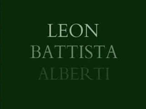 The Renaissance Man - Florence - Leon Battista Alberti