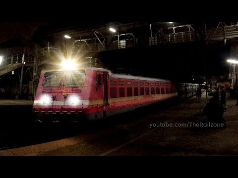 First Time ELECTRIC Loco for KARNATAKA Express from Bangalore | Indian Railways