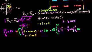 التكامل السطحي مثال 3(جزء 4)