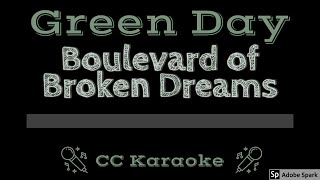 Download lagu Green Day • Boulevard of Broken Dreams (CC) [Karaoke Instrumental Lyrics]
